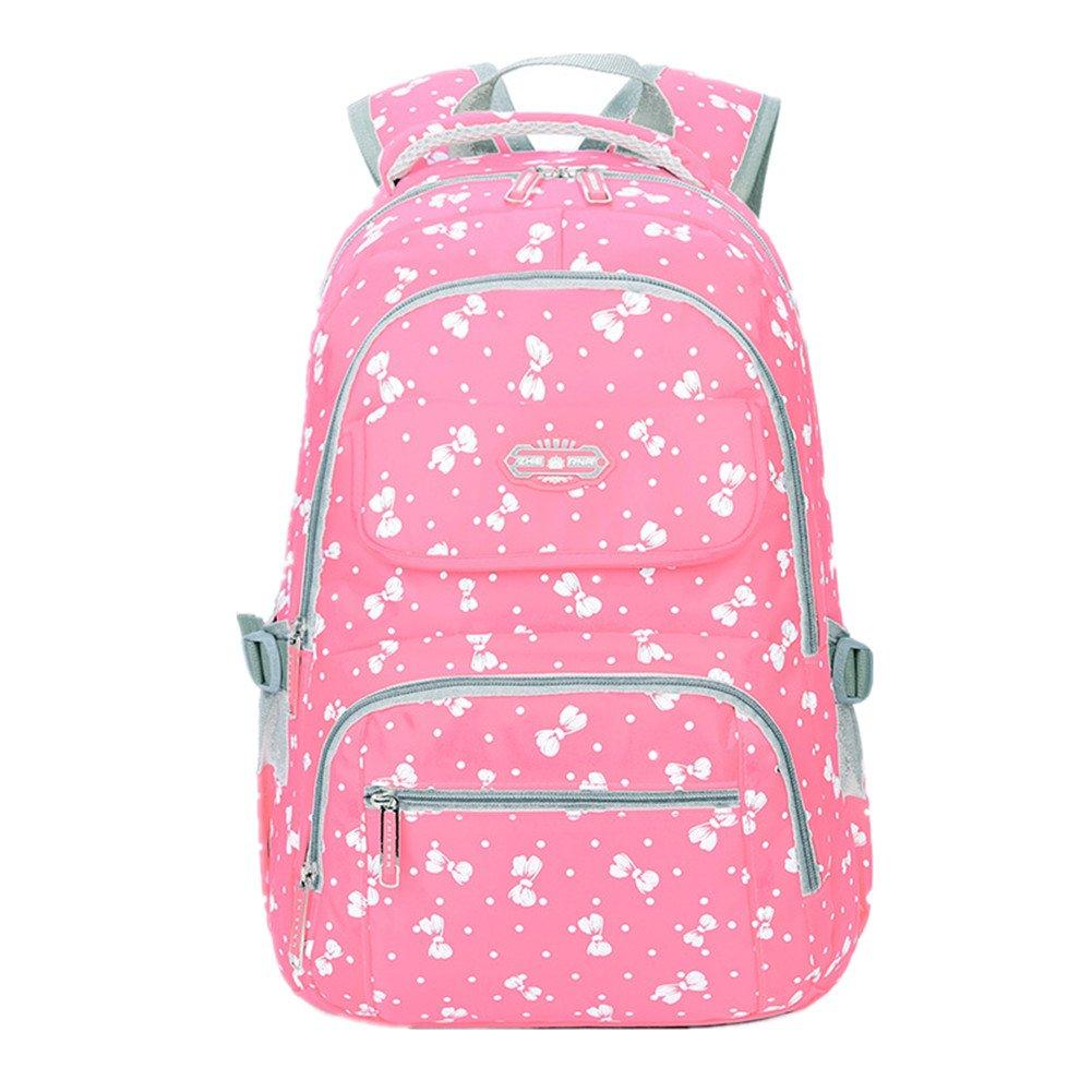 Bom Bom Schule Rucksack Bogen Wasserdichtes Daypack für Mädchen(A) BD-BB-011