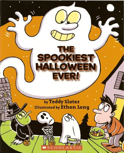 The Spookiest Halloween Ever! (Book and Audio CD) (Paperback)]()
