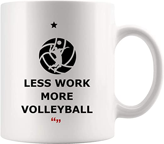 Sport Mug Great Gift//Present Idea Awesome Volleyball Player