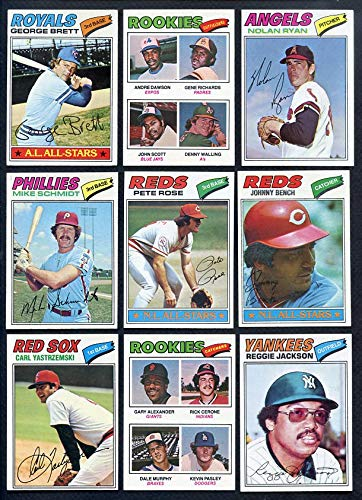 1977 Topps Baseball Complete Set VG-EX/EX Dawson Ryan 366673 Kit Young Cards