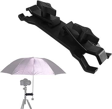 Selens Camera Umbrella Holder Clip Clamp Bracket Support for Tripod Light Stand