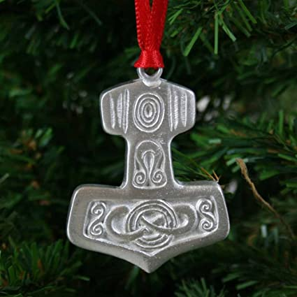 Amazon.com: Thor's Hammer Pewter Ornament: Home & Kitchen