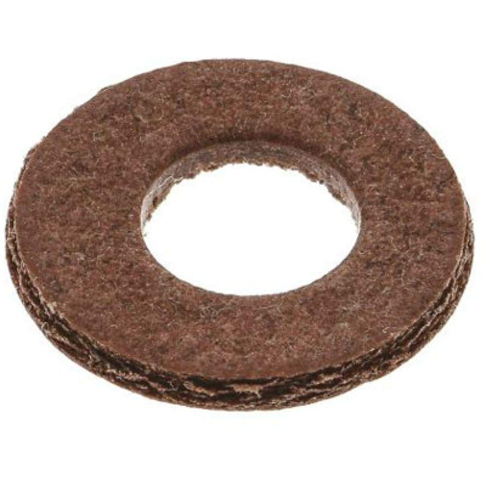 M6 Plain Vulcanised Fibre Sealing Washer; 0.8mm Thickness, Pack of 5