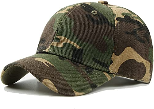 UxradG - Gorra de camuflaje militar para caza, pesca o actividades al aire libre, verde: Amazon.es: Deportes y aire libre