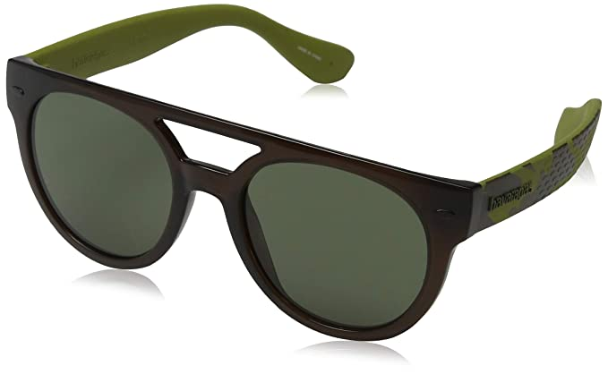 Havaianas Buzios Gafas de Sol, Multicolor (Bwgrnpois), 53 Unisex Adulto
