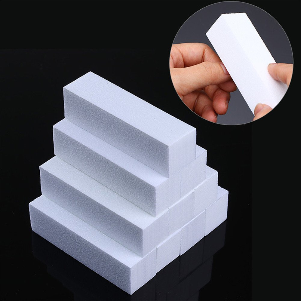 BORN PRETTY Nail Art File and Buffer 4 Way Sanding Grinding Polishing Block File DIY Manicure Pedicure Tool Kit