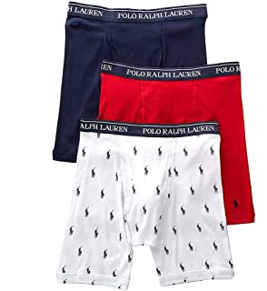 fa7241623f7 Polo Ralph Lauren Classic Button Fly Boxer Brief 3-Pack