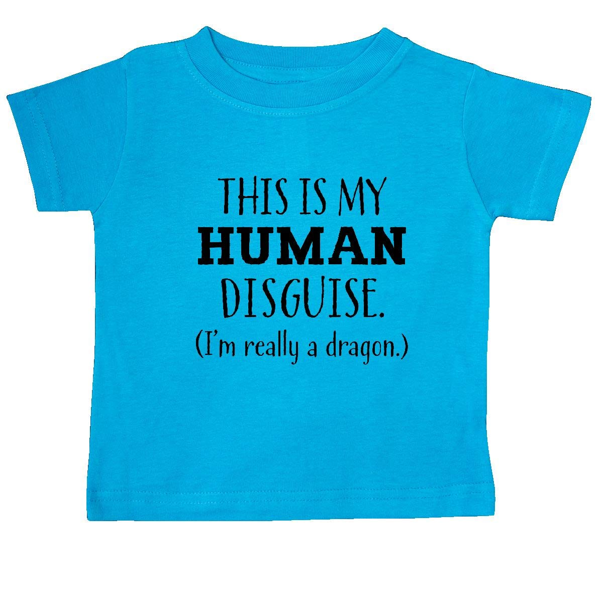 Im Really a Dragon Baby T-Shirt inktastic This is My Human Disguise