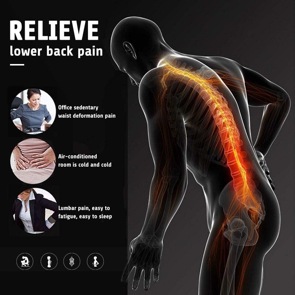 Ci/ática Escoliosis-Dise/ño de Malla Transpirable ZSZBACE Apoyo de Espalda-Alivio Inmediato para el Dolor de Espalda Hernia Discal