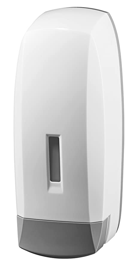 Bisk 02280 Dispensador de jabón, 1l, blanco