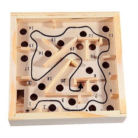 Gcroet 1PC Grano Laberinto Juego De Puzzle Juego Laberinto De ...
