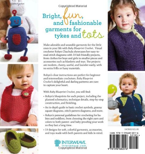 Baby blueprint crochet irresistible projects for little ones baby blueprint crochet irresistible projects for little ones robyn chachula 9781596682016 amazon books malvernweather Choice Image