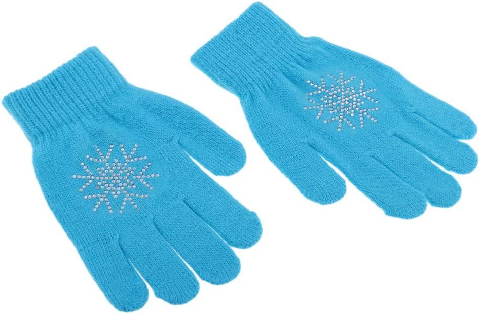 perfeclan rutschfeste Gepolsterte Handschuhe Thermo Strickhandschuh F/ür Jungen M/ädchen Winter Herbst Skaten Radfahren Camping Snowboarden