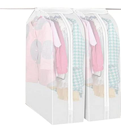 Hilltop To Cloud Cute Premium Three Dimensional See Through Wide Travel Garment  Suit Clothes Covers