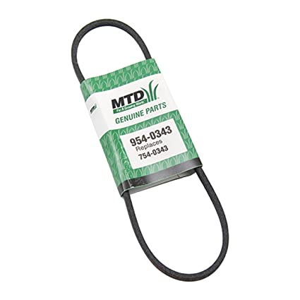 Amazon Mtd 954 0343 Drive V Belt Replacement For Lawn Mowers