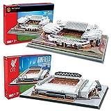 [Nanostad 2 piece set] Manchester United and Liverpool Stadium 3D puzzle