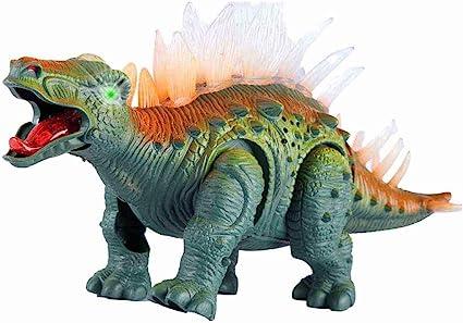 Walking Light Realistic Dinosaur Sounds B//O Prehistoric Dinosaur Stegosaurus