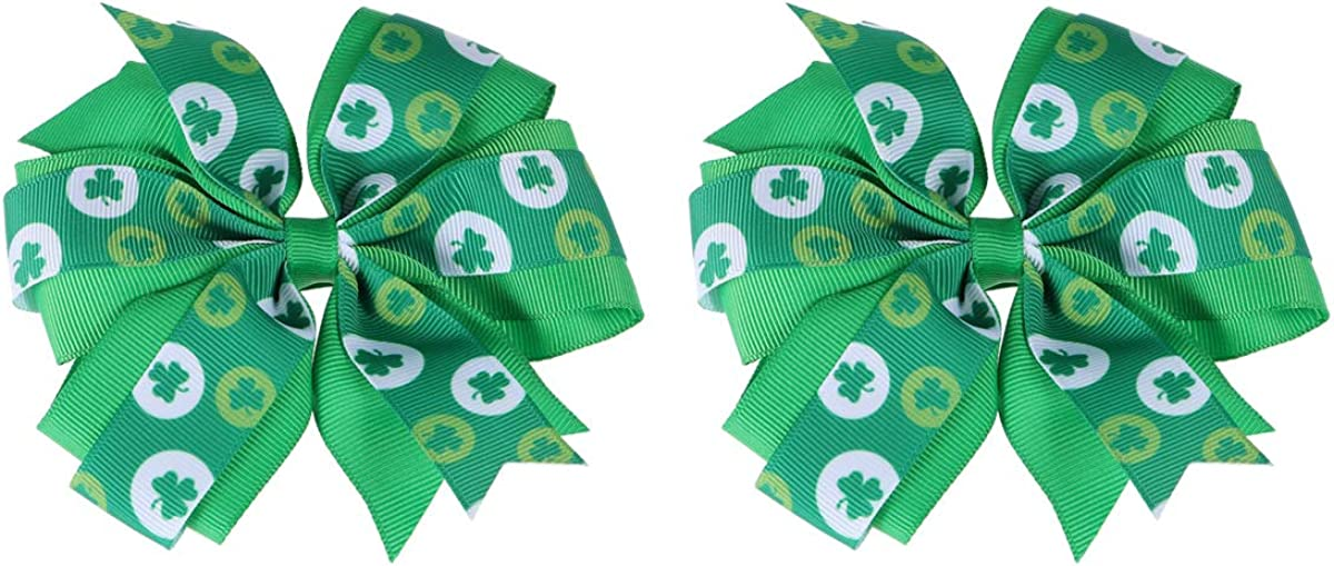 Irish Tricolour flag beaded Crochet Hair Scrunchie Ponytail Holder,Green Women Hair Accessaries St Patricks day Bead Crocheted Bobble
