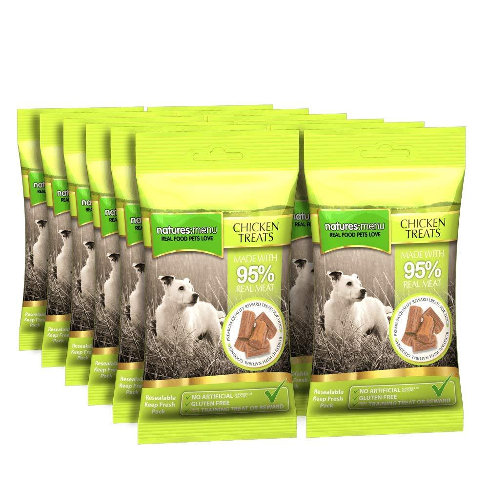 Nature's Menu Dog Treats 12 x 60g Packets Bulk Buy