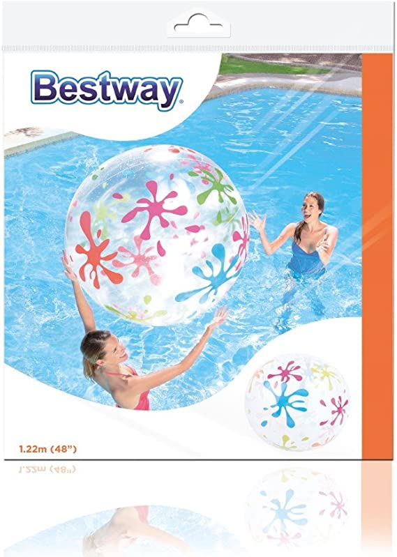 Bestway 8321148 - Pelota Playa Gigante 1,22m: Amazon.es: Juguetes ...