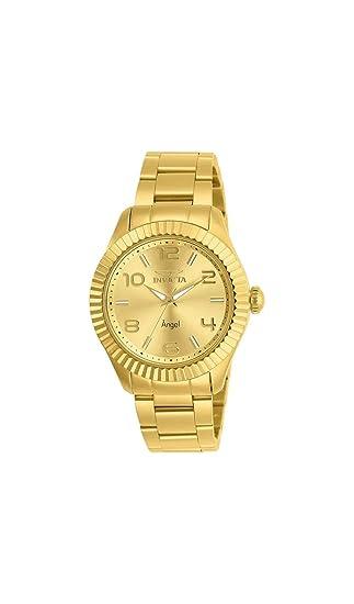 Invicta Angel Reloj de Mujer Cuarzo analógico Correa y Caja de Acero 27460: Amazon.es: Relojes