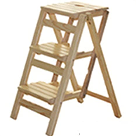 Amazon.com: American Style Solid Wood Dual-use Staircase ...