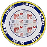 Enamelware - Old Bay Pattern - 12.5 Inch Charger Plate