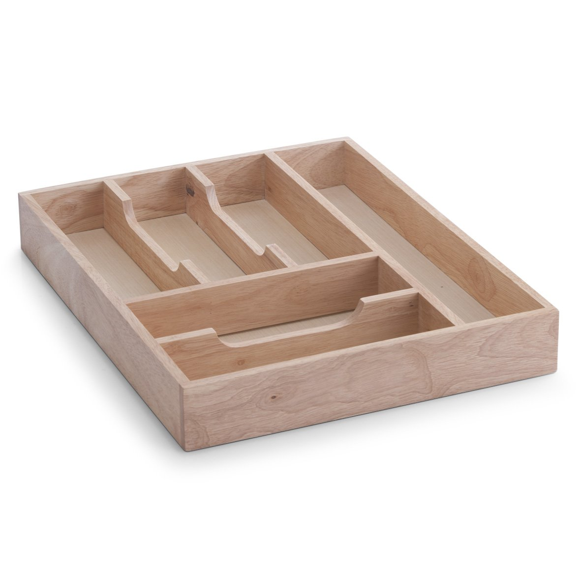 Zeller Cutlery Drawer, Wood, Multi-Colour, 34 x 43 x 6 cm 24045