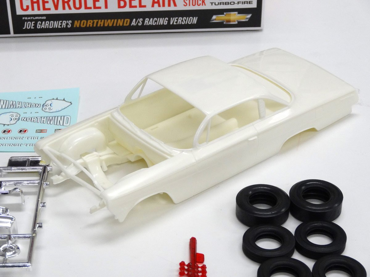 AMT 1:25 Scale 1962 Chevy Bel Air Northwind Super Stock Model Kit