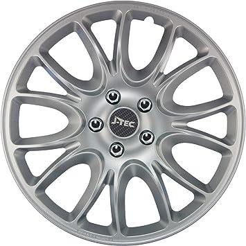 Amazon.com: Gorecki J15574 Set J-Tec Wheel Covers Hero 15 ...