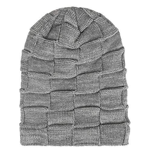 a2af530591f9 Fantastic Zone Winter Beanie Hat for Men and Women Warm Knit Hats Slouchy  Thick Skull Cap