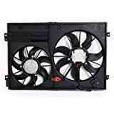 NEW Dual Radiator and Condenser Cooling Fan