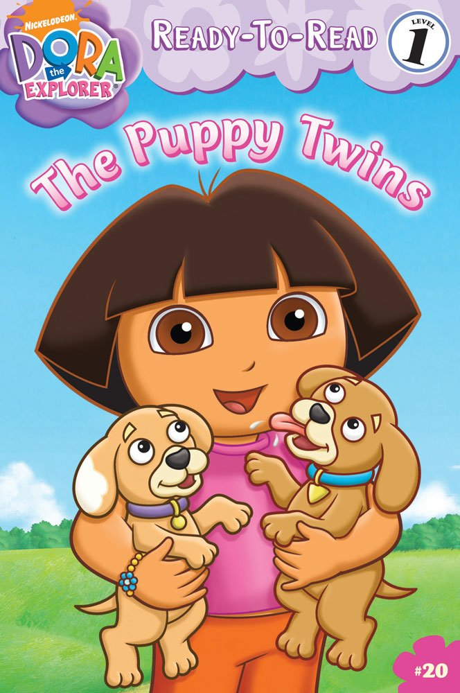 Download The Puppy Twins (Ready-To-Read Dora the Explorer - Level 1) (Dora the Explorer Ready-to-Read) pdf