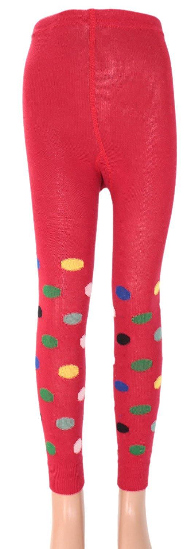 enfants legging avec coloré (E) pois