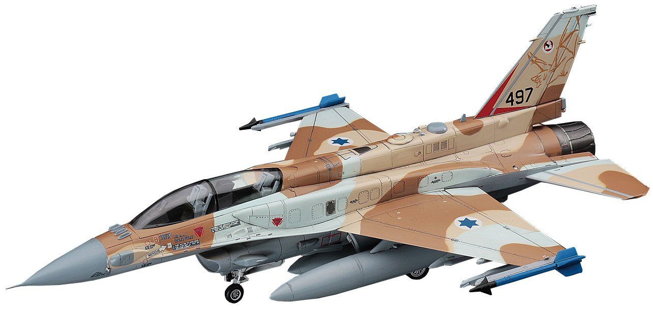 HASEGAWA 01564 1//72 F-16I Fighting Falcon Israeli Air Force