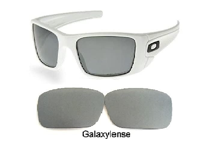 ad238f7de1 Amazon.com  Galaxy Replacement lenses For Oakley Fuel Cell Polarized  Titanium 100% UVAB  Clothing