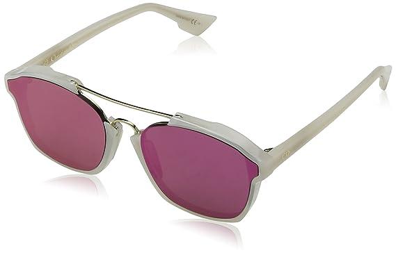 Christian Dior Damen Sonnenbrille Diorabstract 9Z 6NM, Weiß (Milk/Violet), 58
