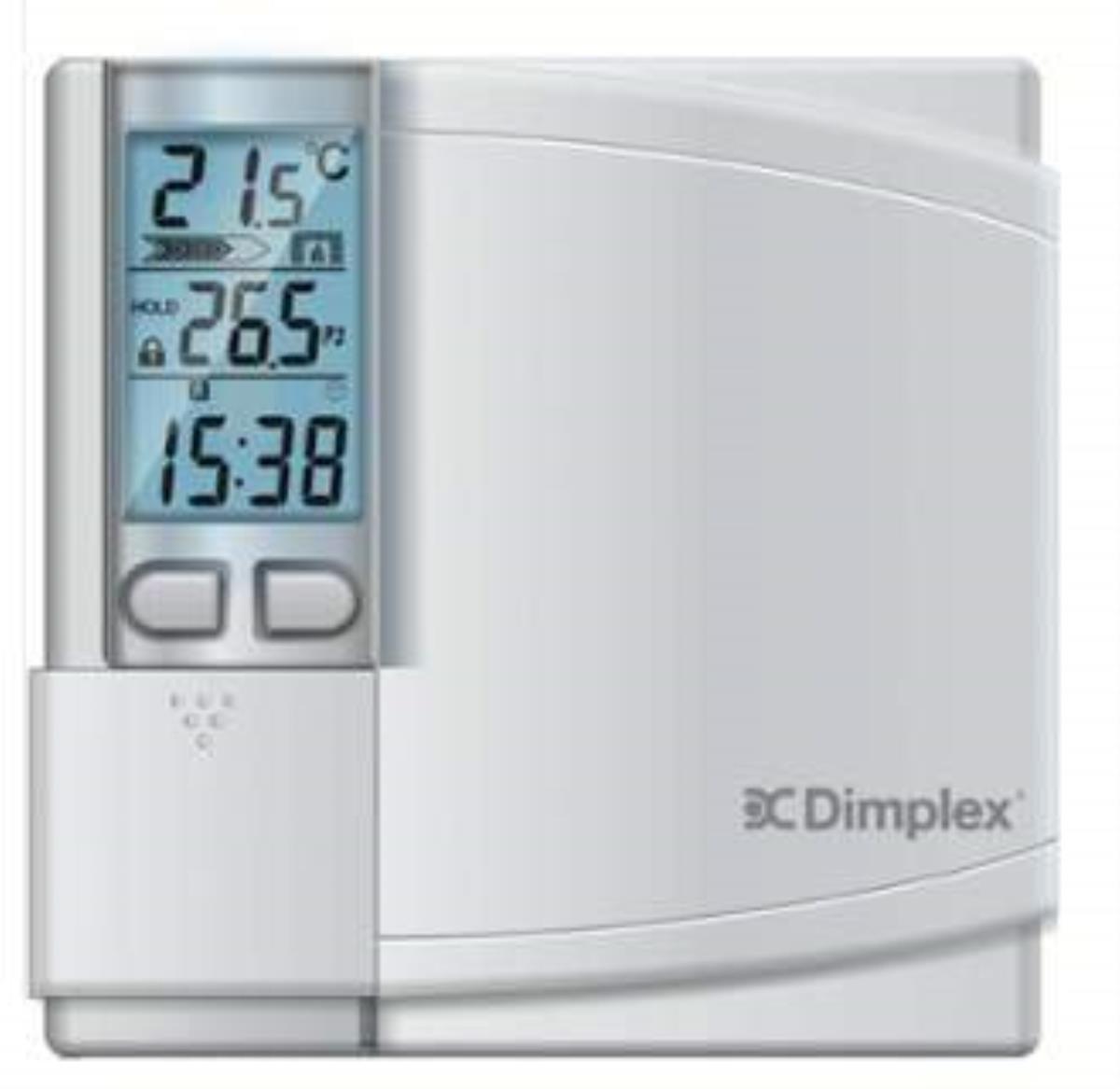 Dimplex DWT431W-P Electronic Programmable Stat Single Pole Retail, White