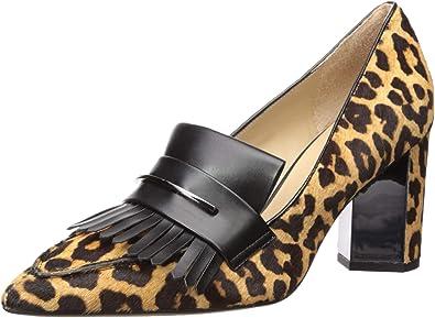 franco sarto leopard pumps