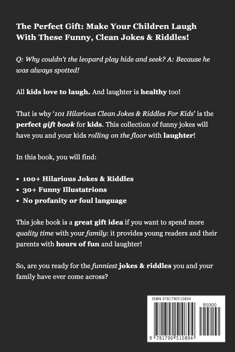 101 Hilarious Clean Jokes & Riddles For Kids: Laugh Out Loud With