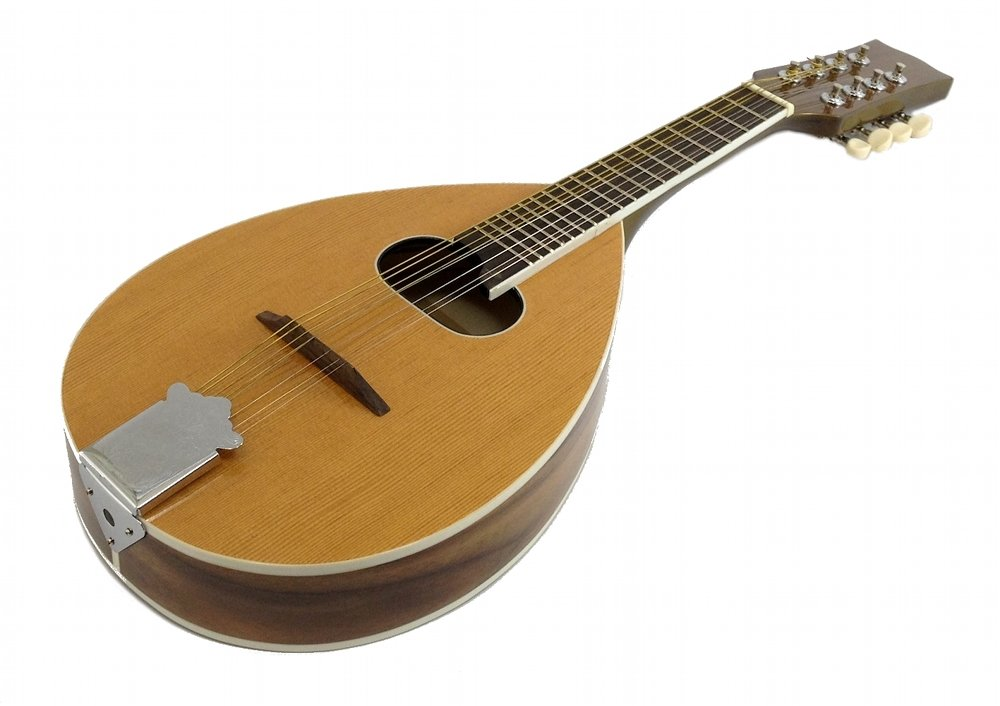 MANDOLIN - A Style - 8 String - Teardrop with Oval Soundhole 24.5'' Long - NEW