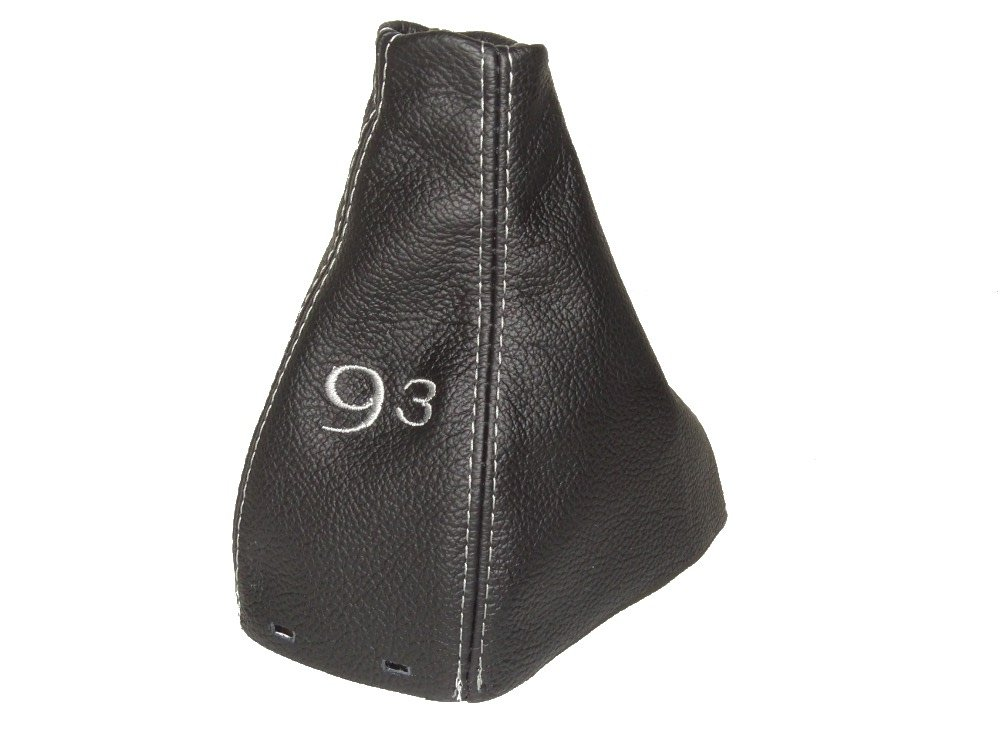 The Tuning-Shop Ltd Manual Gear Gaiter Shift Boot Black Italian Leather