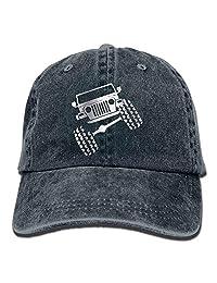 Rbfqfm Jeep Wrangler - Gorro Ajustable de algodón