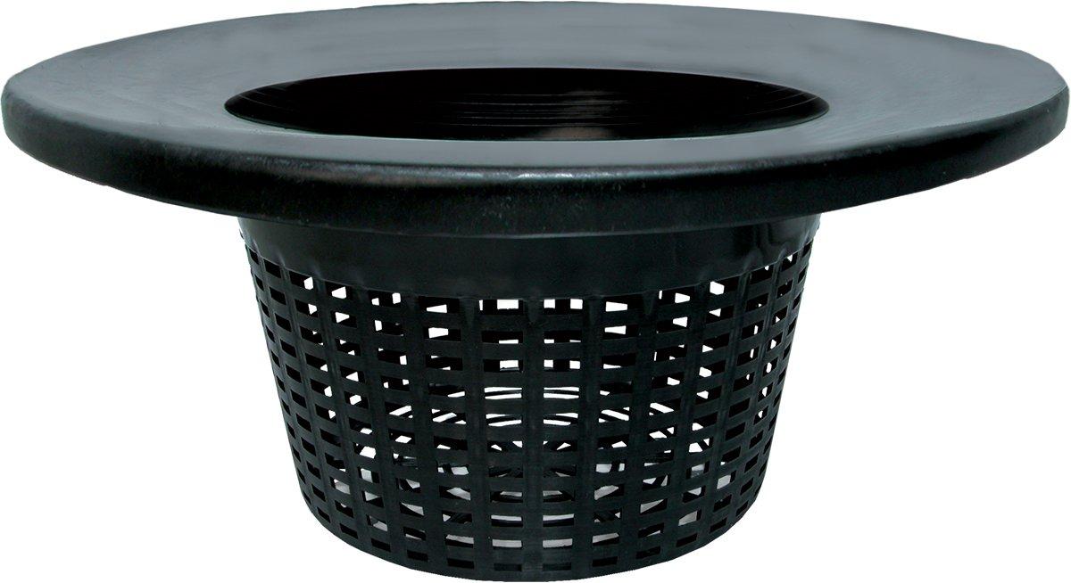 "Hydrofarm HG6RDBK Wide Lip Bucket Basket Lid (Case of 25), 6"""