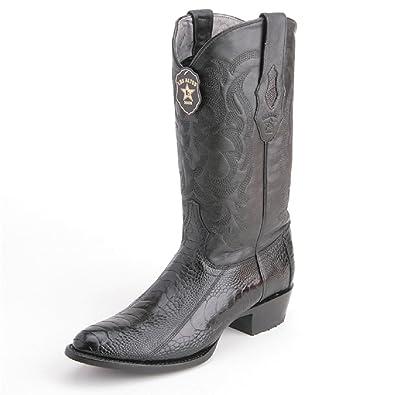 0d14c6339d3 Amazon.com | Los Altos boots Mens Ostrich Leg Round Toe Western ...