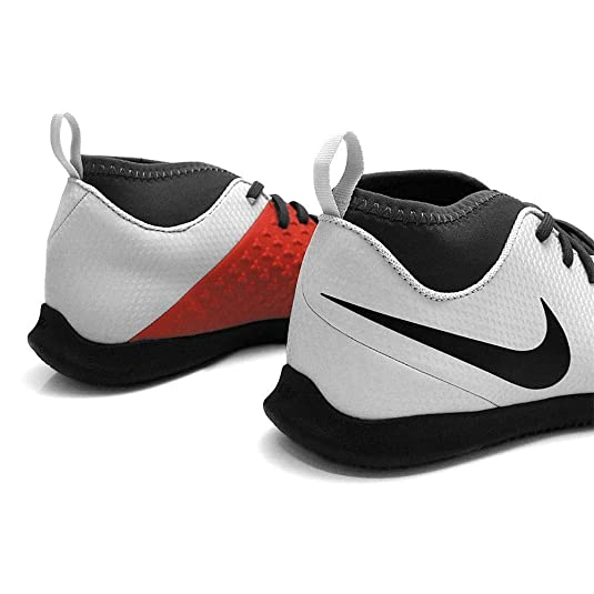 Amazon.com | Nike - Phantom Vision Club DF IC JR - AO3293060 - Color: White-Grey - Size: 5.5 | Athletic