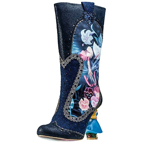 los angeles latest discount order Irregular Choice Lost Your muchness Women Boots Blue Size: 9 ...