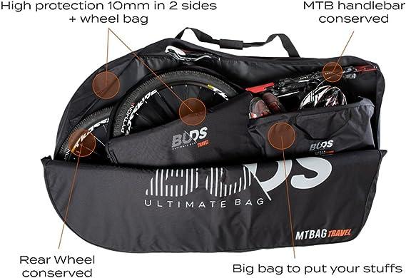 Buds-Sports - Bolsa de bicicleta acolchada MTBag Travel - Bolsa de ...