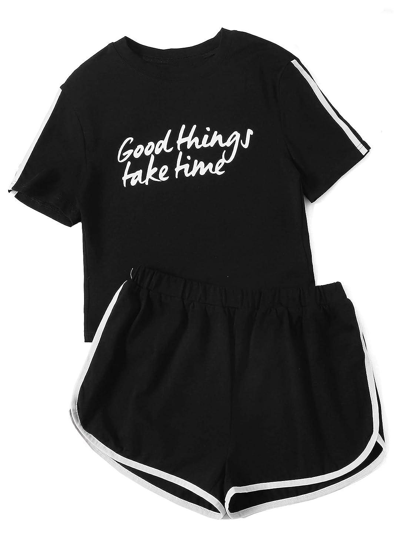 Black SweatyRocks Women's Crop TShirt Tie Front Long Sleeve Cut Out Casual Blouse Top
