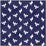 KAREN FOSTER Design 25 Sheets Scrapbooking Paper, 12'' x 12'', Peaceful Doves